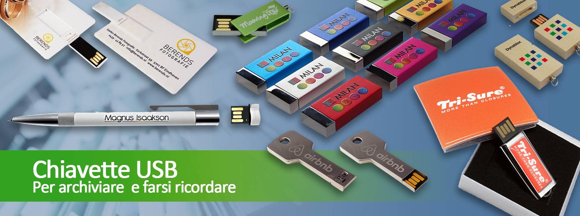 Chiavette USB promozionali