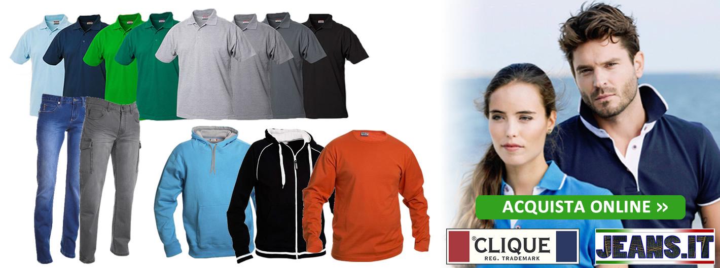 Abbigliamento online Uomo/Donna Clique e Jeans