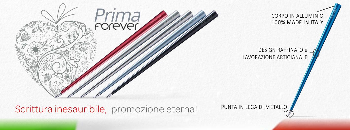 Forever Prima - Scrittura inesauribile, promozione eterna