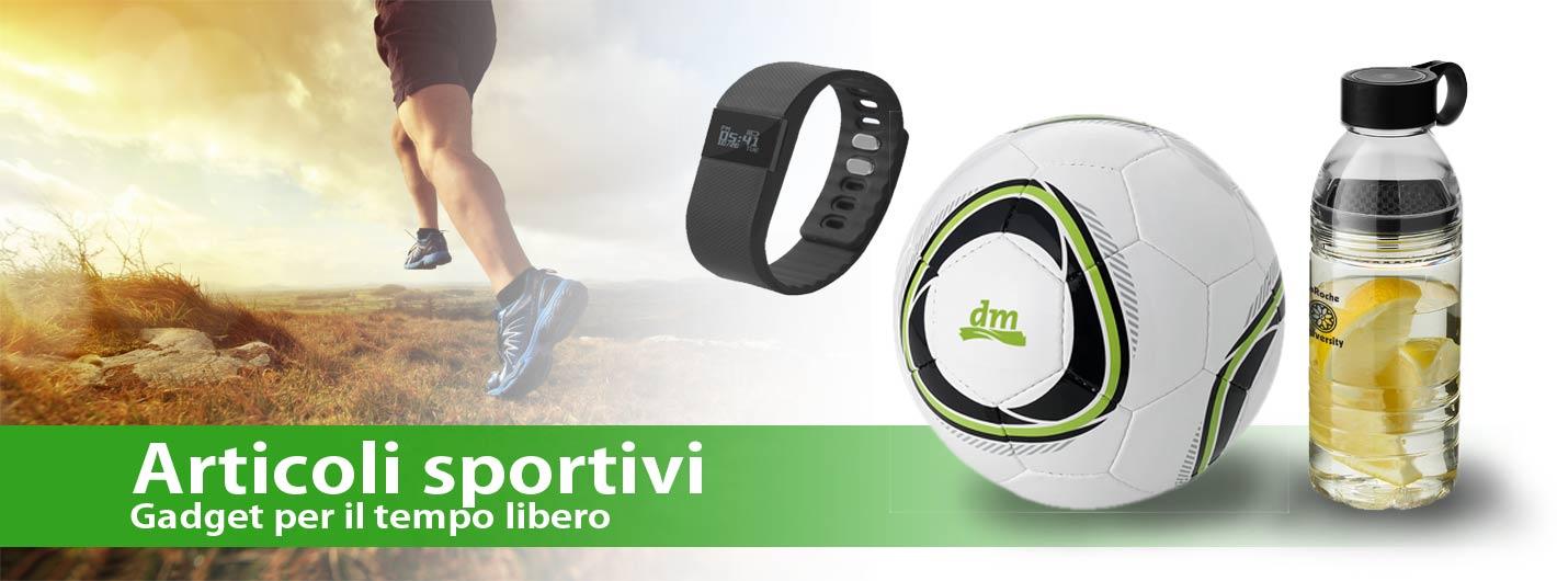 Gadget sportivi personalizzati