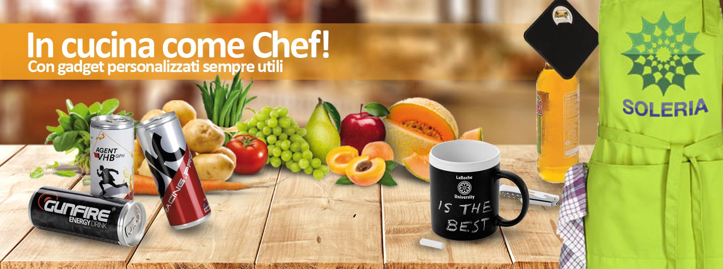 Gadget da cucina da personalizzare