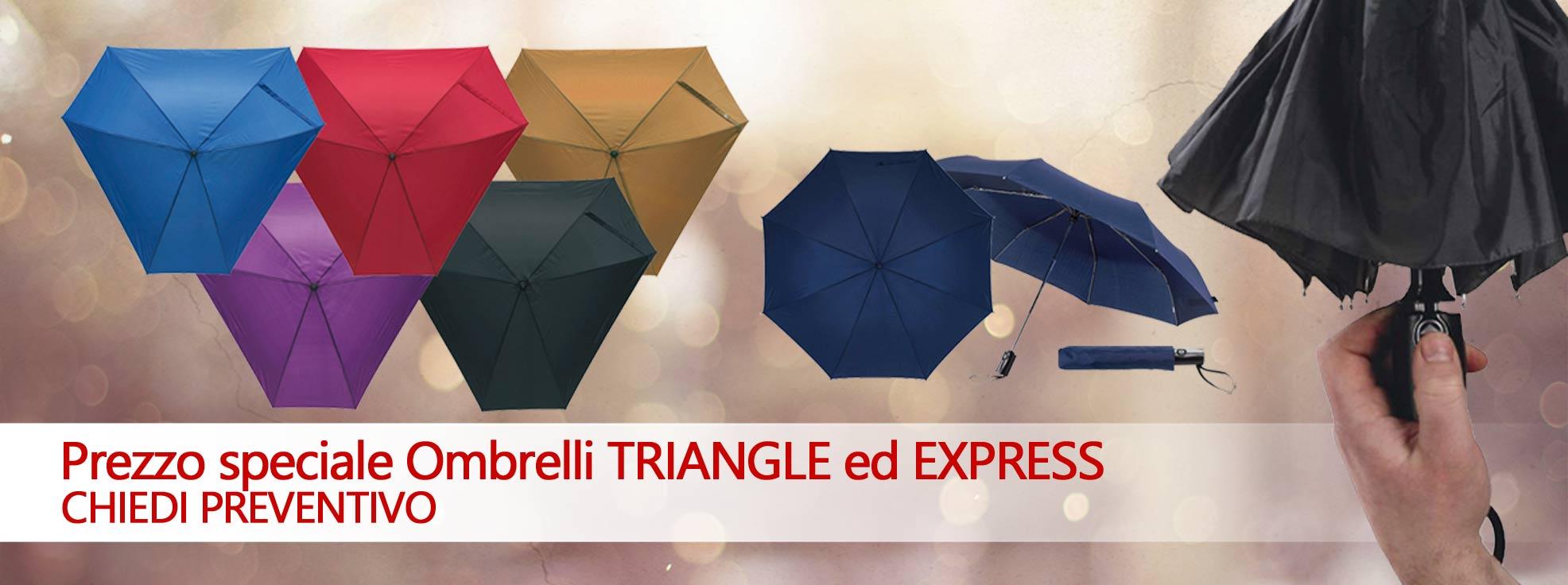 Regali aziendali ombrelli