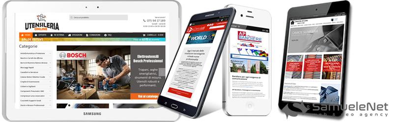 Realizzazione siti web SamueleNet
