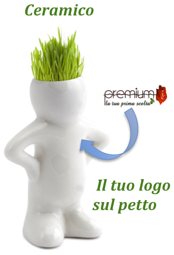Ceramico, capelli d'erba