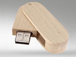 USB in legno rigenerato