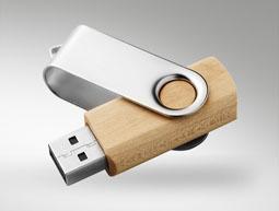 USB legno e metallo