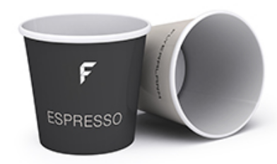 Bicchiere da CAFFE'