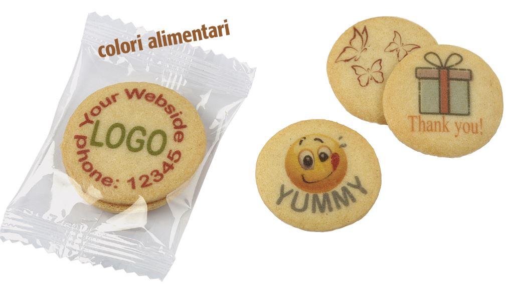 Biscotto stampato color