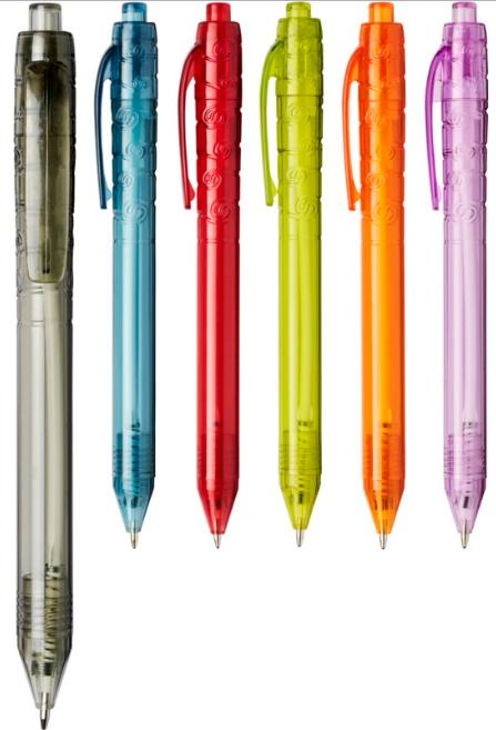 Penna in plastica PET