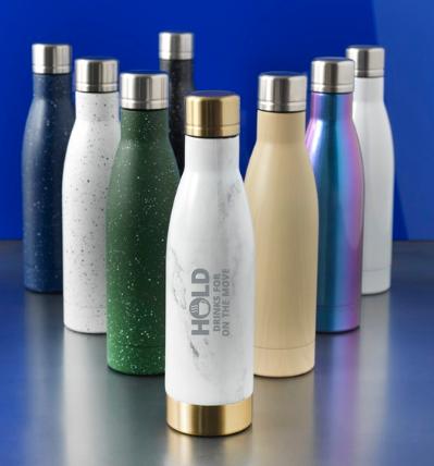 Bottiglia marmo&legno 50cl.