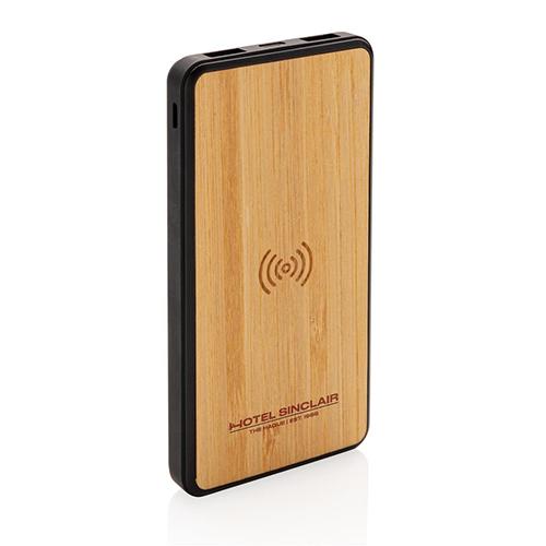 Powerbank Bambù Fashion Wireless