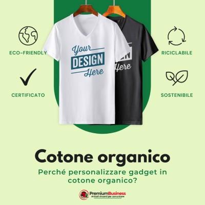 T-shirt 100% COTONE ORGANICO