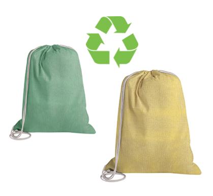 Sacca zaino riciclata